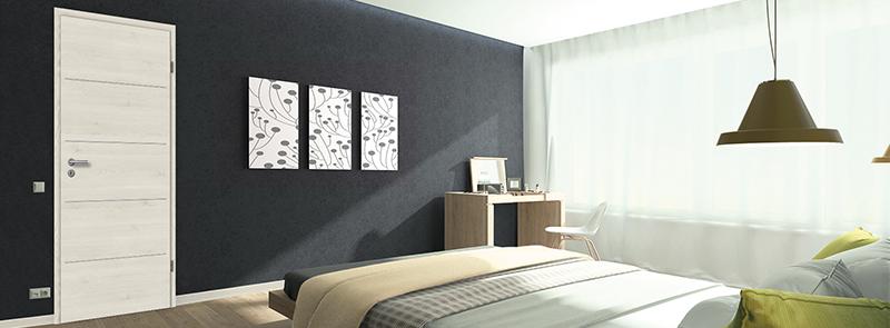 glattet ren cpl struktura mit lisenen lobo t ren. Black Bedroom Furniture Sets. Home Design Ideas