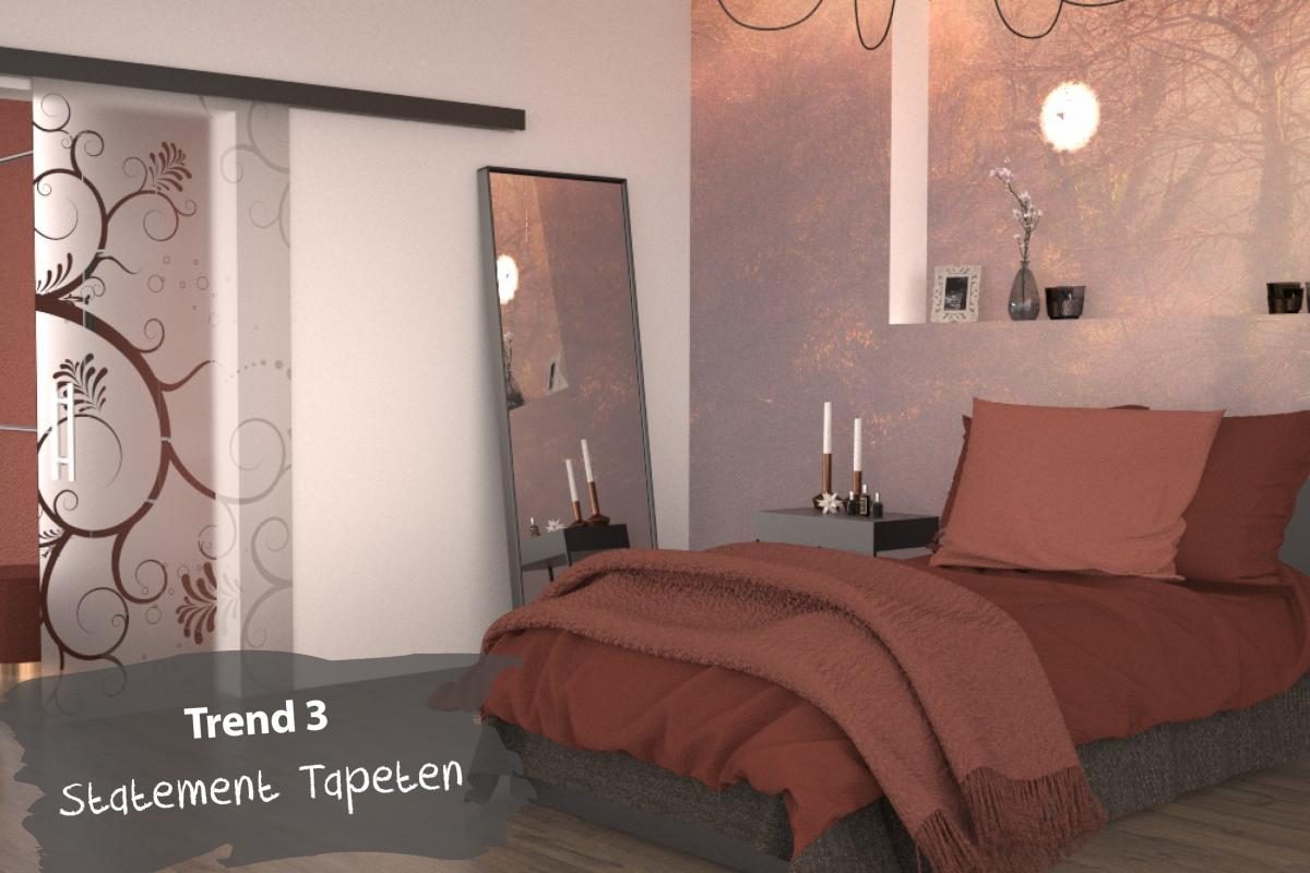 Trend 3: Statement-Tapeten
