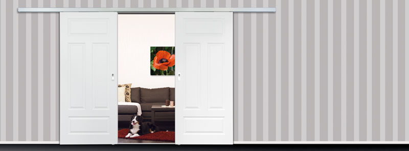 schiebet rsysteme classic 50 f r holzt ren lobo t ren. Black Bedroom Furniture Sets. Home Design Ideas